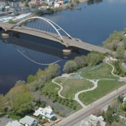 Lowry Avenue Bridge over the Mississippi River