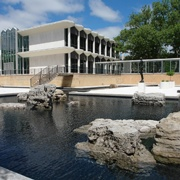 McGregor Memorial Conference Center Reflecting Pool - Wayne State University