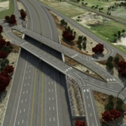 Pioneer Crossing Interchange Bridges