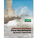 Corrosion Resistance of Epoxy-Coated Reinforcing Bars, Bridge Substructure in a Marine Environment
