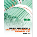 Comparing The Performance Of Epoxy And Galvanized Reinforcing Steel, A Literature Review