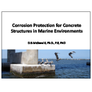 Presentation: Corrosion Protection for Concrete Structures in Marine Environments