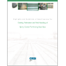 Highlights and Guidelines of Specifications for Coating, Fabrication and Field Handling